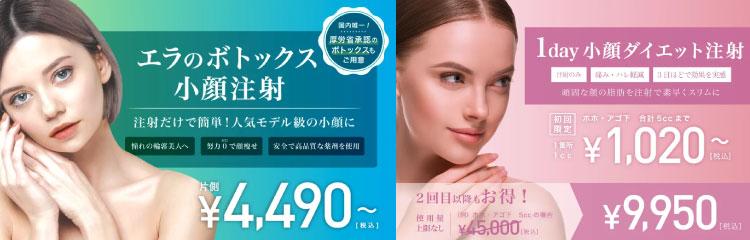 東京中央美容外科 品川院バナー