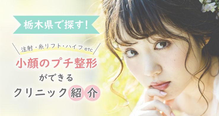 栃木県で小顔術を受けるならチェックしておきたいクリニック一覧