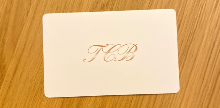 TCB会員カード