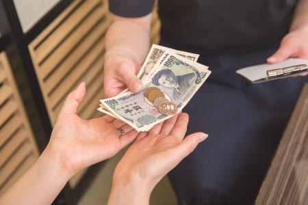 糸リフト料金の支払い